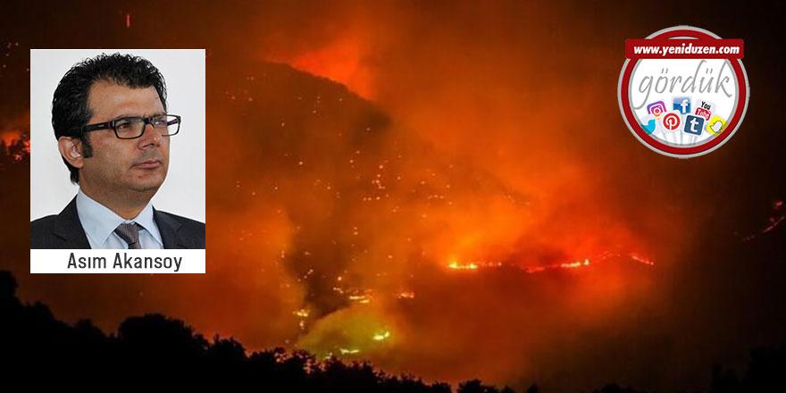 """""""Akdeniz yanıyor ve biz tam ortasındayız"""""""