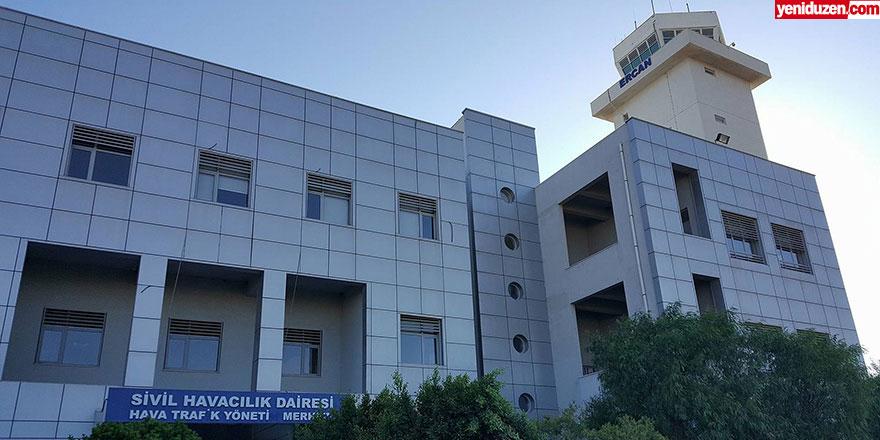 """Ercan Kule'de 2 vaka: """"Hava trafiği durma noktasına geldi!"""""""