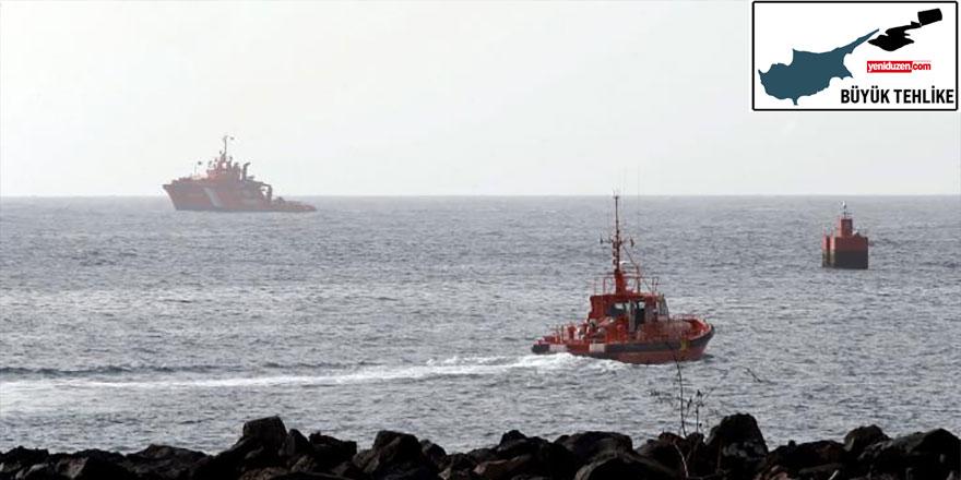İki Toplumlu Çevre Komitesi: Petrol sızıntısı Kıbrıs kıyılarından uzaklaşıyor