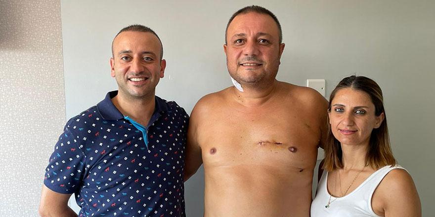 Lefkoşa Devlet Hastanesi'nde bir ilk: Kapalı bypass ameliyatı