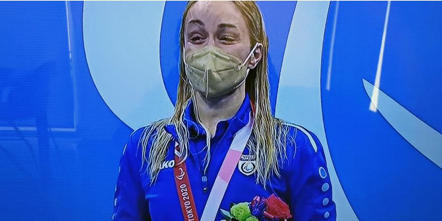 Kıbrıslı Rum sporcuya altın madalya