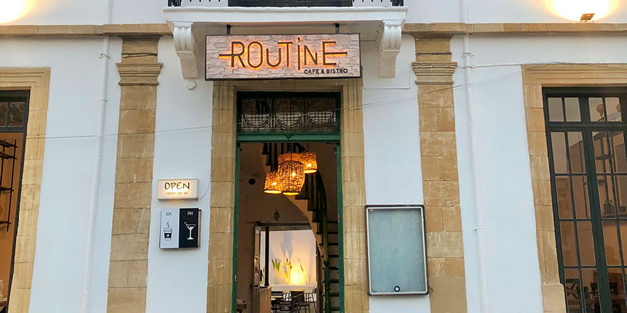 Lefkoşa'da yeni bir anlayış, yeni bir mekan: Routine