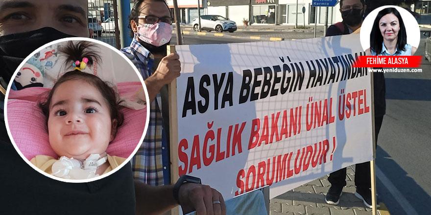 """Asya bebeğin babası YENİDÜZEN'e konuştu: """"Üç hafta geçti, kızımızın ölmesini mi bekliyorlar?"""""""