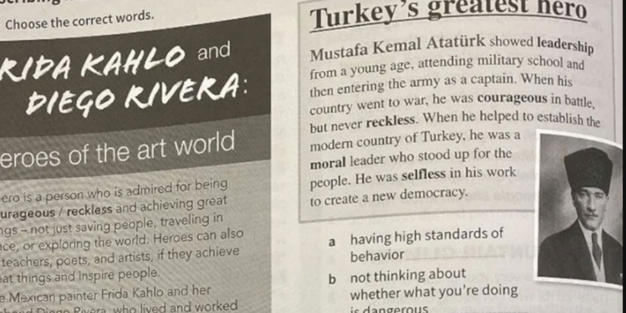 Eğitim Bakanı Prodromu, Atatürk yanlışını kabul etti