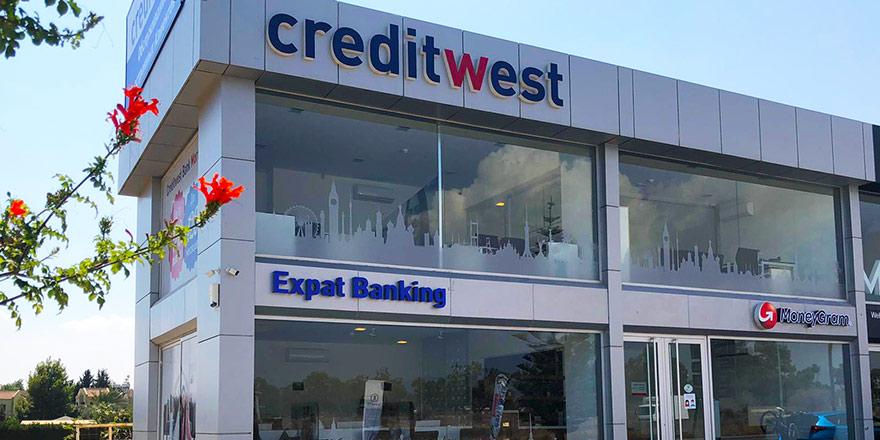 Creditwest Bank İskele Şubesi hizmete girdi