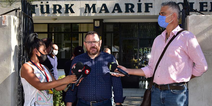 """KTOEÖS: 30'un üzerinde öğrenci Lefkoşa TMK'ya aktarıldı"""""""