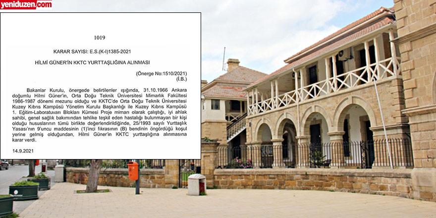 'Külliye mimarına istisnai vatandaşlığa', yargı yolu