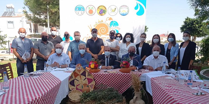 """Cittaslow'a üye belediyelerden Yeniboğaziçi'nde """"Cittaslow Sunday"""" etkinliği"""