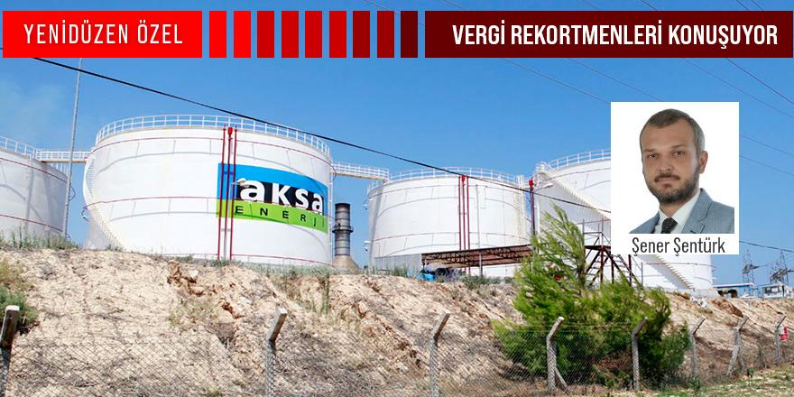 """AKSA Kıbrıs Santral Müdürü Şener Şentürk:  """"KKTC için vergi vermekten mutluluk duyuyoruz"""""""