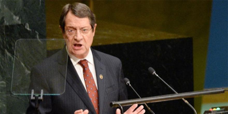 Anastasiadis'ten BM Genel Kurulu'na: Bizim için tek plan var