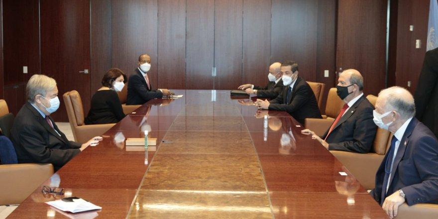 Tatar - Guterres görüşmesi tamamlandı