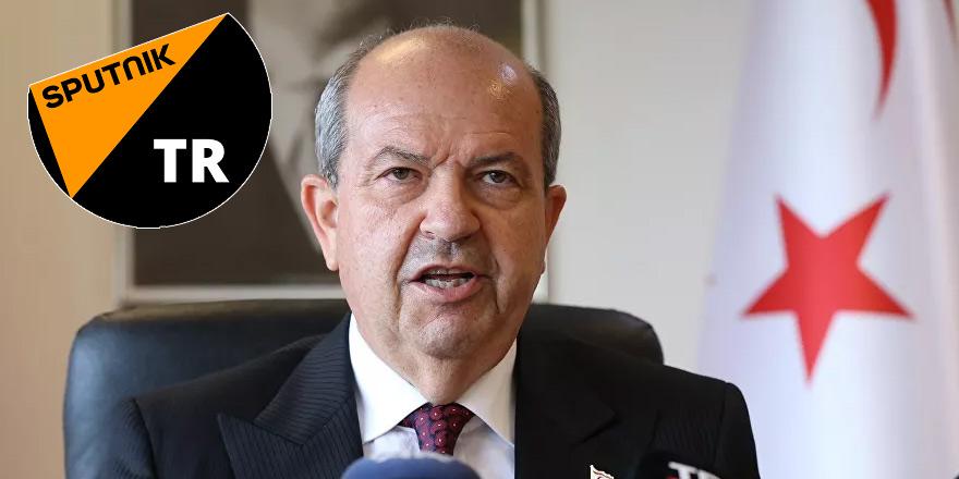 Tatar söyledi: BM'nin bizi tanıması gerçekçi değil