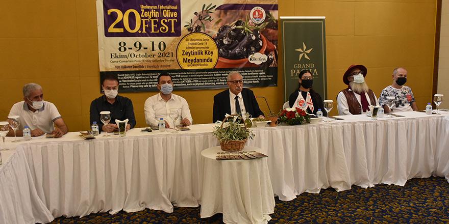 20.Uluslararası Zeytin Festivali pandemi önlemleri altında yapılacak