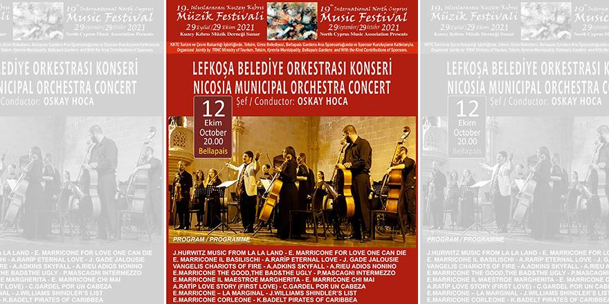 Lefkoşa Belediye Orkestrası film müzikleri ile Bellapais Manastırı'nda olacak