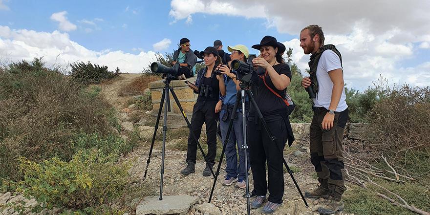 Kıbrıs'ta ilk kuş kampı yapıldı