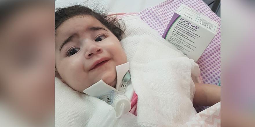 Asya bebekten güzel haber: İlacı almaya başladı