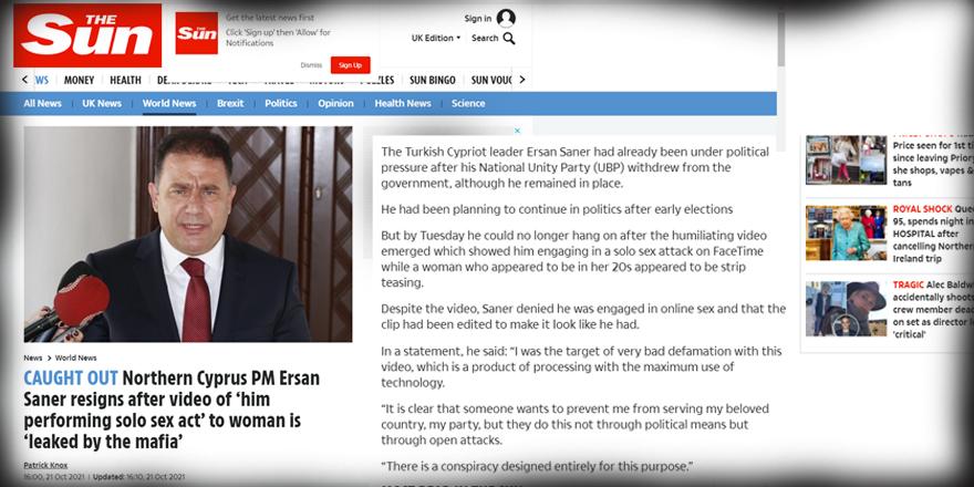 'Video skandalı' İngiliz basınında