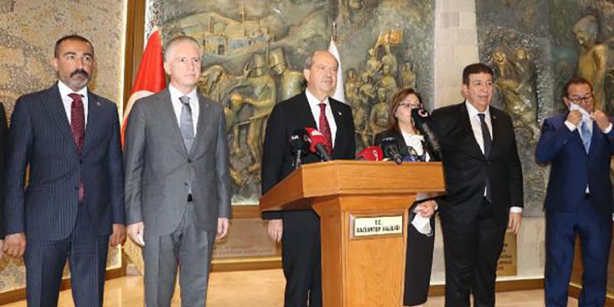 Tatar, Gaziantep Valisi'ni ziyaret etti, yeni siyasetini anlattı