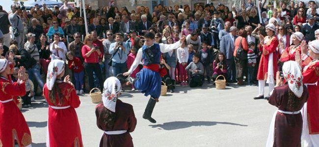 Medoş Lalesi Festivali yapıldı