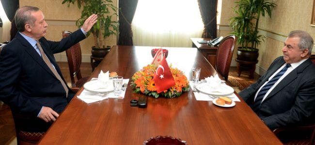 Küçük, Ankarada Erdoğan ile görüştü