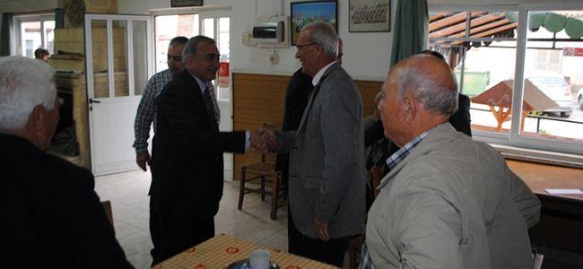 Arabacıoğlu, Ortaköy'ü ziyaret etti