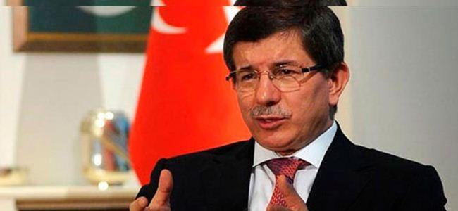 """Davutoğlu: """"2013'te ya taksim ya çözüm"""""""