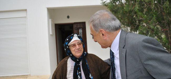 Arabacıoğlu Hamitköy'ü ziyaret etti