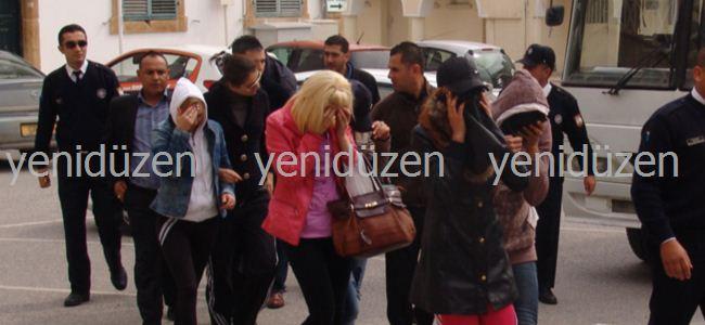 Fuhuş operasyonu: 21 tutuklu