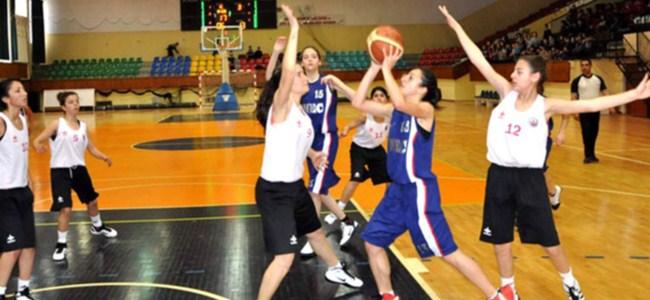 Ortaokul basketbolda final günü