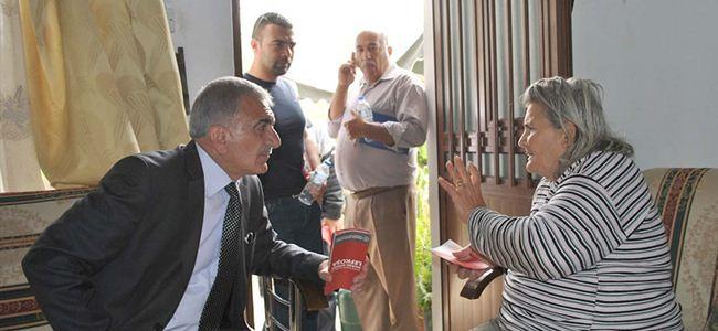 """Arabacıoğlu: """"Sorunları çözmeye geliyoruz"""""""