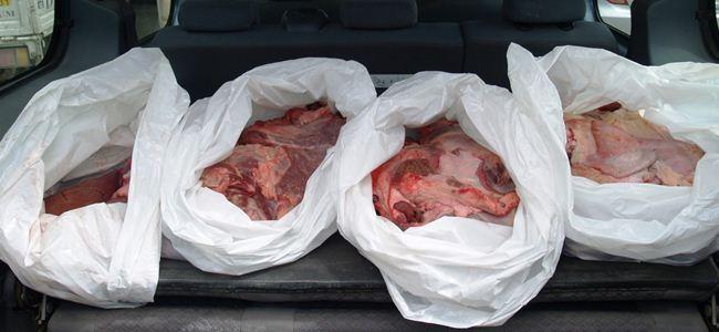 Mağusada 60 kilo sağlıksız ete el konuldu