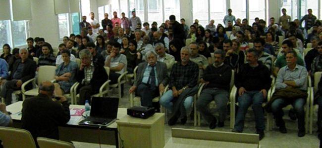 """""""Kızıldere Anması"""" ve """"Feminizm Ve Yerel Yönetimler"""" paneli gerçekleşti"""