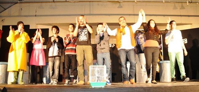 Beşparmaklar Tiyatro Festivali sona erdi