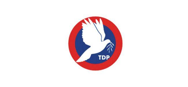 TDP miting düzenliyor