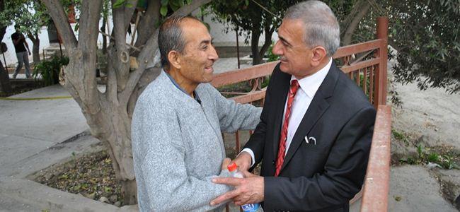 DP, Kızılay ve Yenişehir'i ziyaret etti