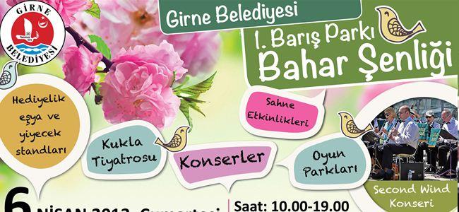 """Girne Belediyesi'nden; """"Bahara Merhaba"""" şenliği"""