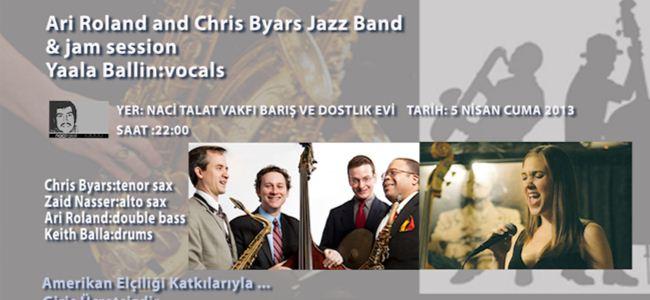 Naci Talat Vakfında Jazz Gecesi