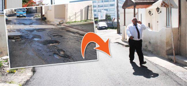 """Seçim için """"asfalt yatırımı"""""""