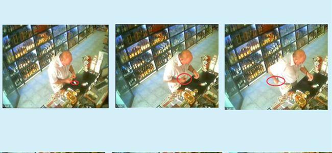 Saniye saniye hırsızlık kamerada