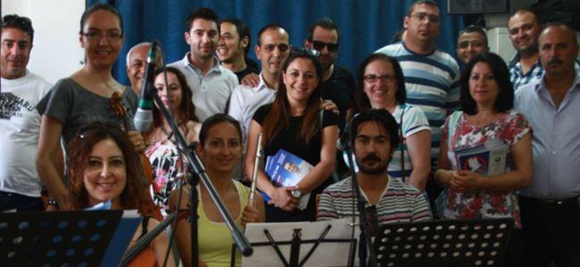Harmancı ve ekibi LTB Orkestrasını ziyaret etti