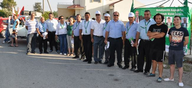 Osman başkan ve ekibi çağdaş projeler için onay istedi
