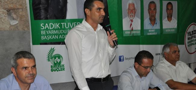 Kayalp'tan Tuver'e destek sözü: Yanınızda olacağız!