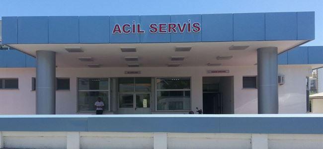 Girne Akçiçek Hastanesi'nin acil servisi yenilendi