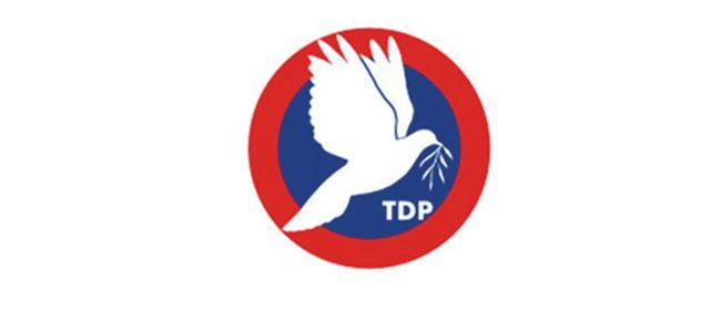 TDP adayları belli oldu