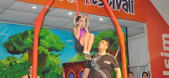 Cimnastikçiler beğeni topladı
