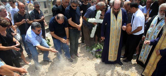 Sipahi'de Kıbrıslı Rum kaybın cenaze töreni yapıldı