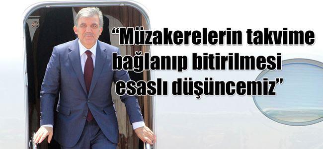 Türkiye Cumhurbaşkanı Gül adada