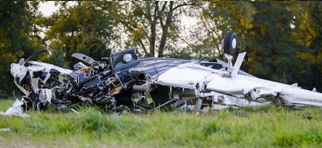 İki küçük uçak düştü: 6 ölü