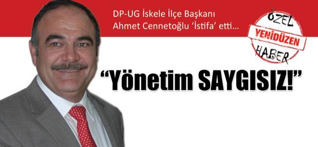 DP-UG'den bir istifa daha…