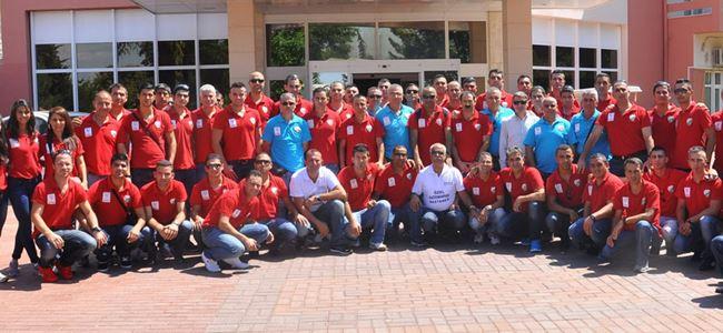 Hakemler İzmir'de